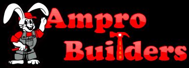 Ampro Builder logo - roofing contractor